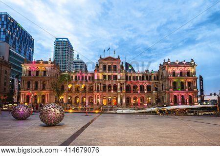 December 22, 2018: Treasury Casino, Aka The Treasury, Is A Casino Located In Brisbane, Australia, Op