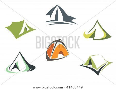 Travel and adventure camp tents