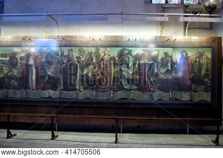 Estonia, Tallinn 22,12,2016 St. Nicholas Church, Or Niguliste - One Of The Main Medieval Churches In