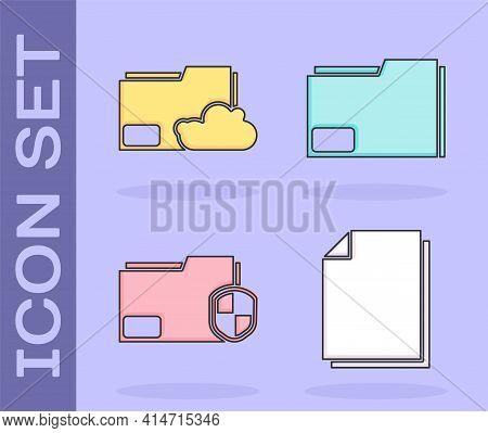 Set Document, Cloud Storage Text Document Folder, Document Folder Protection And Document Folder Ico