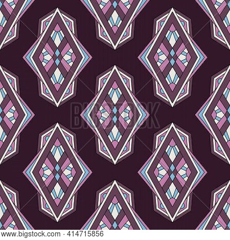 Orient Culture Pattern. Outline Hand Drawn Illustration Of Orient Culture Vector Pattern For Web Des
