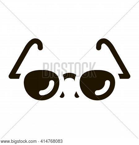 Glasses For Good Vision Icon Vector. Optical Glasses Optometrist Equipment For Better Eyesight Picto