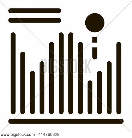 Statistician Cloud Storage Icon Vector. Statistician Diagram Folder, Internet Cloudy Storaging Picto