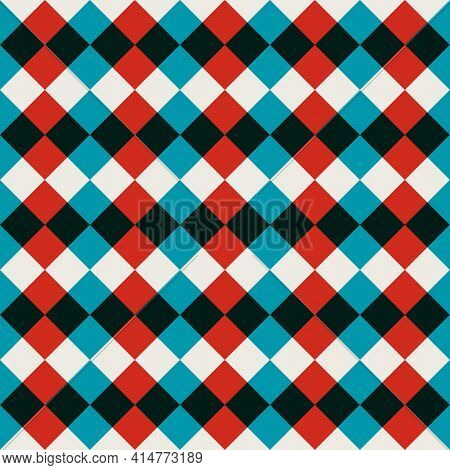 Geometry Abstract Pattern Swiss Style. Modern Vector Graphic Artwork Simple Geometric Elements In Sc