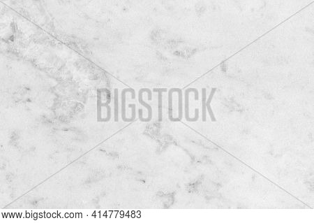 White Marble Texture, Front View. Close-up Background Photo