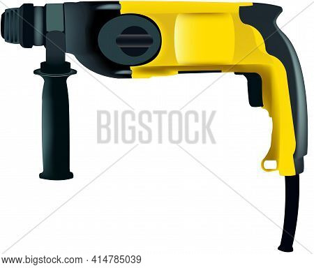 Electric Long Yellow Drill Electric Long Yellow Drill
