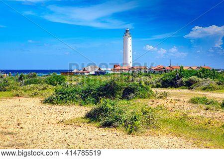 Lighthouse Faro De Punta De Maisí, The Easternmost Point Of Cuba. (guantanamo)