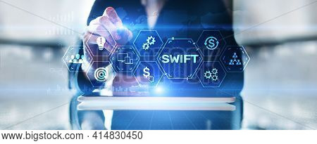 Swift Society For Worldwide Interbank Financial Telecommunications Money Transfer Banking Technology