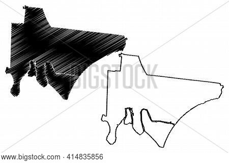 Trousdale County, State Of Tennessee (u.s. County, United States Of America, Usa, U.s., Us) Map Vect