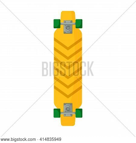 Skateboard Vector Icon.cartoon Vector Icon Isolated On White Background Skateboard.