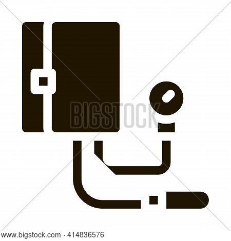 Device For Measuring Pressure Tonometer Icon Vector Illustration
