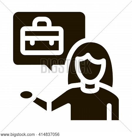 Adding New Employees Glyph Icon Vector. Adding New Employees Sign. Isolated Symbol Illustration