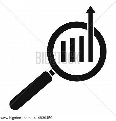 Search Broker Trade Icon. Simple Illustration Of Search Broker Trade Vector Icon For Web Design Isol