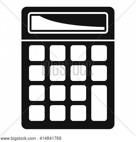 Science Calculator Icon. Simple Illustration Of Science Calculator Vector Icon For Web Design Isolat