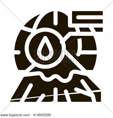 Cryolithology Science Glyph Icon Vector. Cryolithology Science Sign. Isolated Symbol Illustration