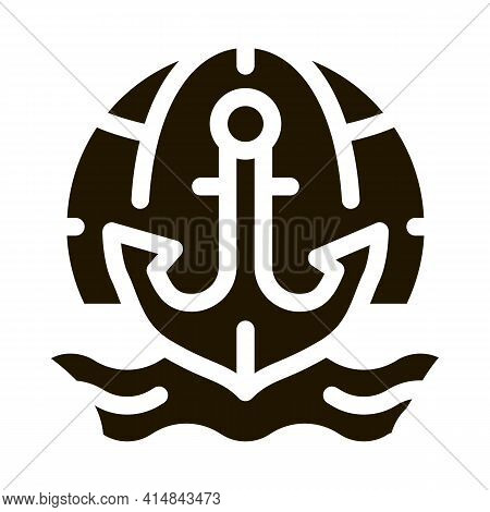 Hydrology Science Glyph Icon Vector. Hydrology Science Sign. Isolated Symbol Illustration