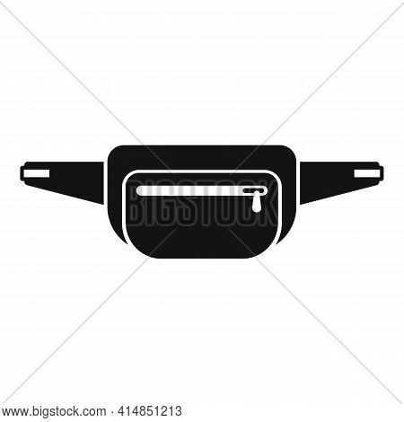 Female Waist Bag Icon. Simple Illustration Of Female Waist Bag Vector Icon For Web Design Isolated O
