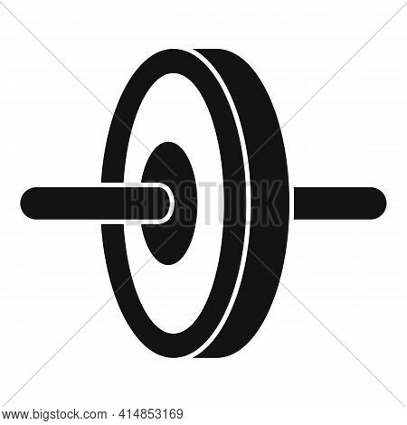 Abs Hand Wheel Icon. Simple Illustration Of Abs Hand Wheel Vector Icon For Web Design Isolated On Wh