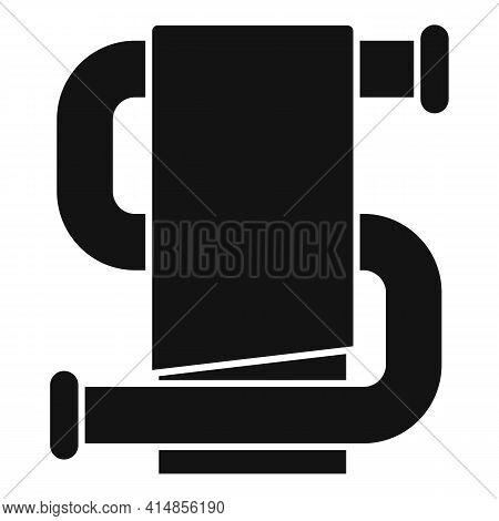 Heated Towel Rail Icon. Simple Illustration Of Heated Towel Rail Vector Icon For Web Design Isolated