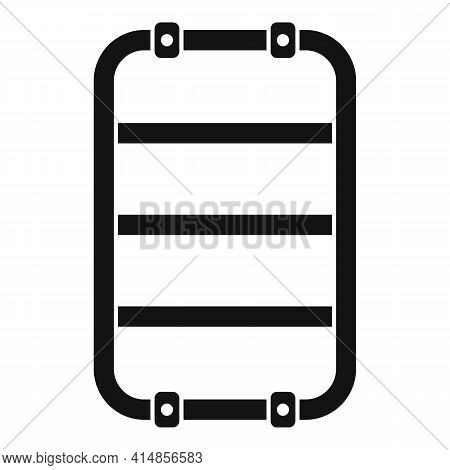 Equipment Heated Towel Rail Icon. Simple Illustration Of Equipment Heated Towel Rail Vector Icon For