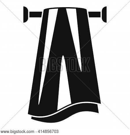 Pile Heated Towel Rail Icon. Simple Illustration Of Pile Heated Towel Rail Vector Icon For Web Desig