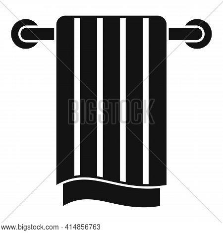 Pipe Heated Towel Rail Icon. Simple Illustration Of Pipe Heated Towel Rail Vector Icon For Web Desig