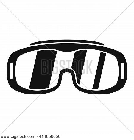 Work Protective Glasses Icon. Simple Illustration Of Work Protective Glasses Vector Icon For Web Des