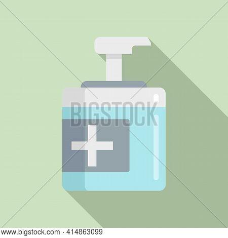 Antiseptic Icon. Flat Illustration Of Antiseptic Vector Icon For Web Design
