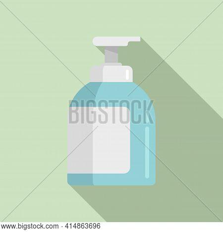 Antiseptic Hand Clean Icon. Flat Illustration Of Antiseptic Hand Clean Vector Icon For Web Design