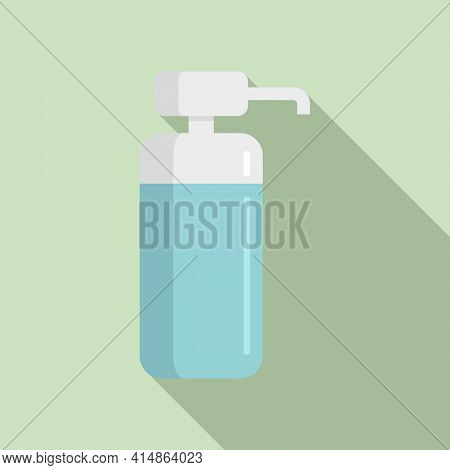 Sanitary Antiseptic Icon. Flat Illustration Of Sanitary Antiseptic Vector Icon For Web Design