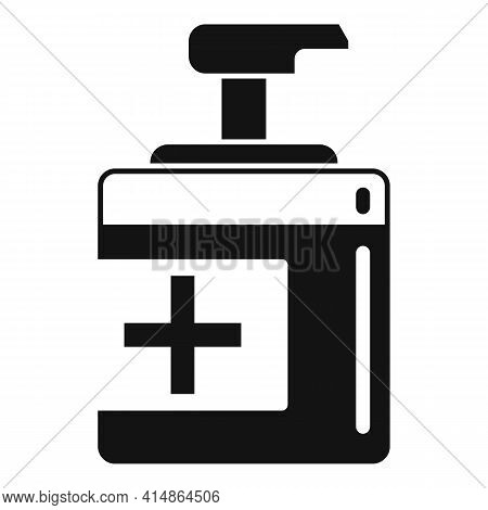 Antiseptic Icon. Simple Illustration Of Antiseptic Vector Icon For Web Design Isolated On White Back