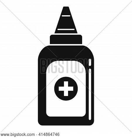 Antiseptic Hand Drop Icon. Simple Illustration Of Antiseptic Hand Drop Vector Icon For Web Design Is