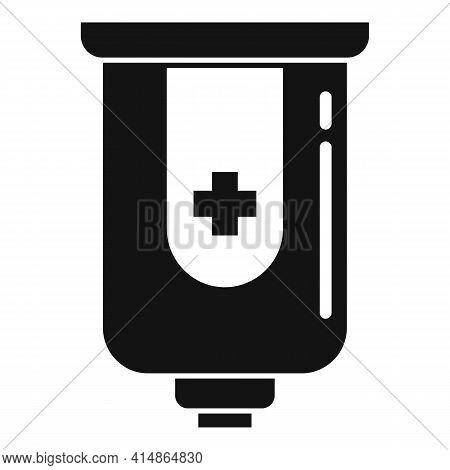 Antiseptic Wall Box Icon. Simple Illustration Of Antiseptic Wall Box Vector Icon For Web Design Isol