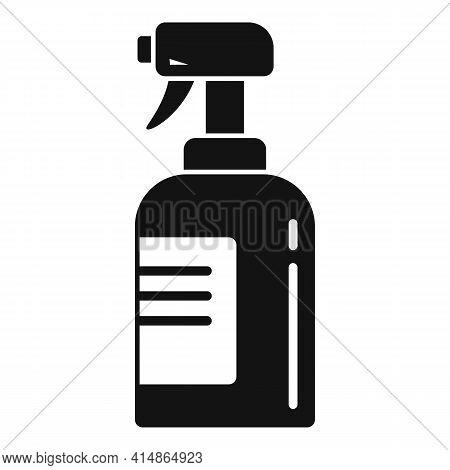 Antibacterial Spray Icon. Simple Illustration Of Antibacterial Spray Vector Icon For Web Design Isol