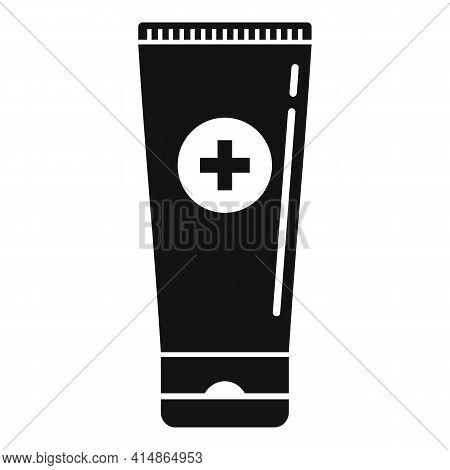 Antiseptic Gel Tube Icon. Simple Illustration Of Antiseptic Gel Tube Vector Icon For Web Design Isol