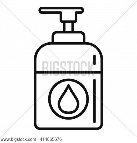 Antiseptic Icon. Outline Antiseptic Vector Icon For Web Design Isolated On White Background