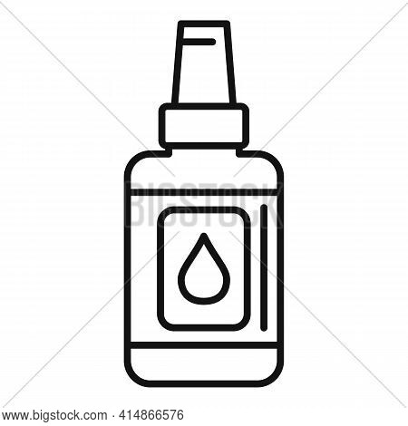 Antiseptic Body Care Icon. Outline Antiseptic Body Care Vector Icon For Web Design Isolated On White