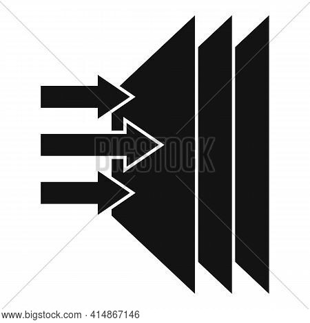 Soundproofing Layer Icon. Simple Illustration Of Soundproofing Layer Vector Icon For Web Design Isol
