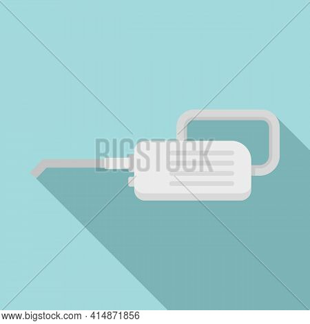 Steam Cleaner Appliance Icon. Flat Illustration Of Steam Cleaner Appliance Vector Icon For Web Desig
