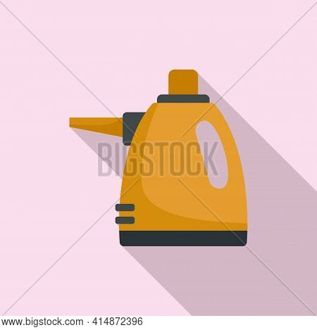 Purity Steam Cleaner Icon. Flat Illustration Of Purity Steam Cleaner Vector Icon For Web Design