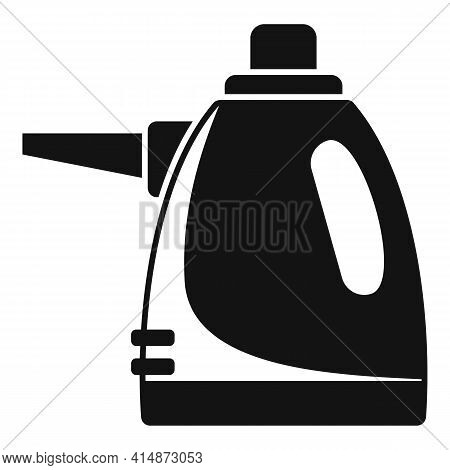Purity Steam Cleaner Icon. Simple Illustration Of Purity Steam Cleaner Vector Icon For Web Design Is