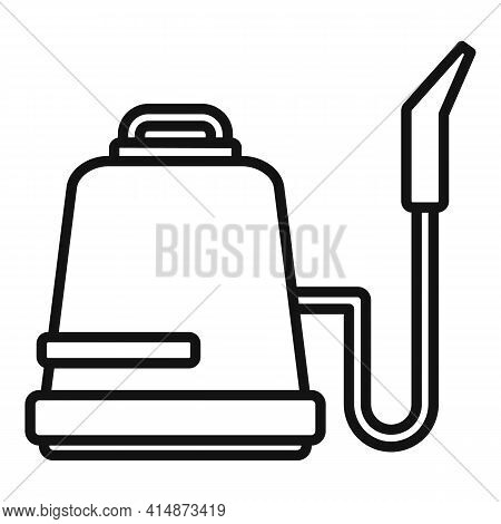 Professional Steam Cleaner Icon. Outline Professional Steam Cleaner Vector Icon For Web Design Isola