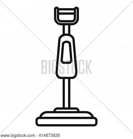 Floor Steam Cleaner Icon. Outline Floor Steam Cleaner Vector Icon For Web Design Isolated On White B
