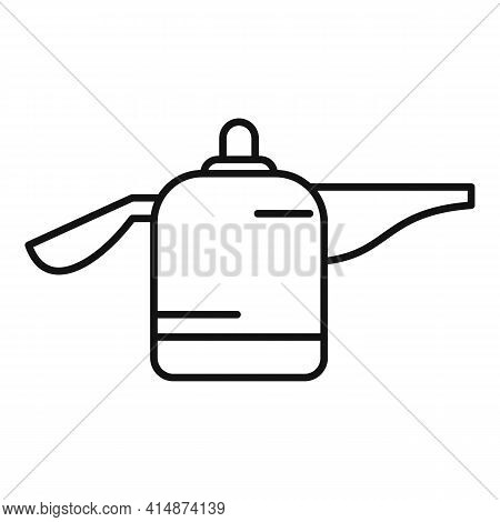Modern Steam Cleaner Icon. Outline Modern Steam Cleaner Vector Icon For Web Design Isolated On White