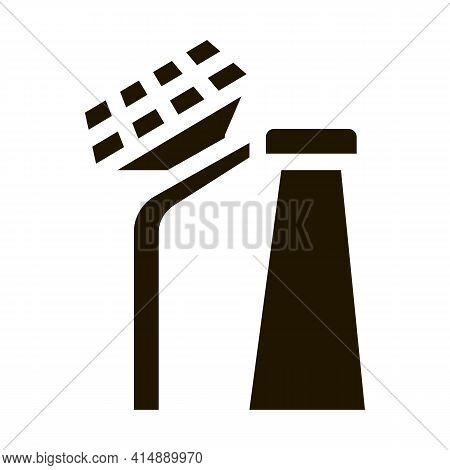 Smart City 5g Internet Glyph Icon Vector. Smart City 5g Internet Sign. Isolated Symbol Illustration