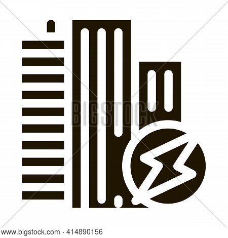 Worldwide Internet Wifi Glyph Icon Vector. Worldwide Internet Wifi Sign. Isolated Symbol Illustratio
