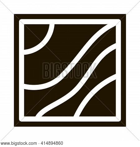 Multilevel Stretch Ceiling Glyph Icon Vector. Multilevel Stretch Ceiling Sign. Isolated Symbol Illus