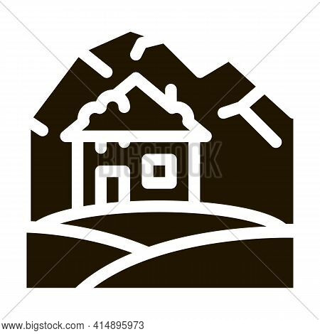 Arctic House Glyph Icon Vector. Arctic House Sign. Isolated Symbol Illustration