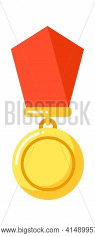 Reward With Red Ribbon, Order Insignia Icon