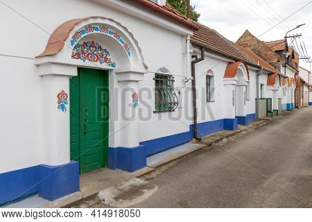 Terezin wine cellars, Southern Moravia, Czech Republic